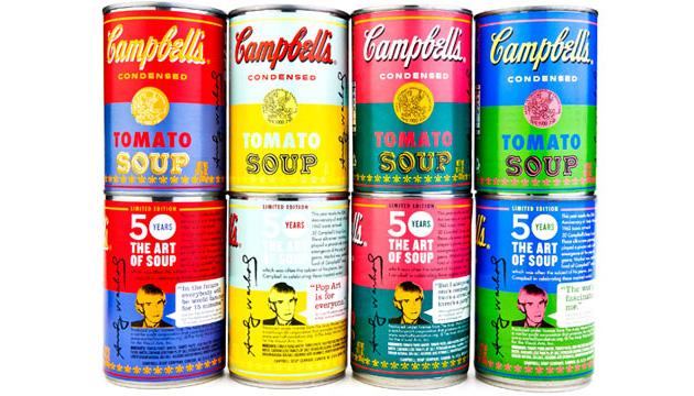 Campbell lança edição especial de sopa que inspirou Andy Warhol ... e2de24df45f